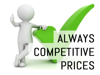 Always Competitive Prices